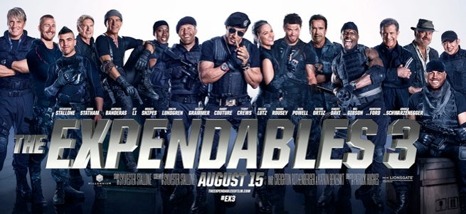 Expendables 3 Featurette Released
