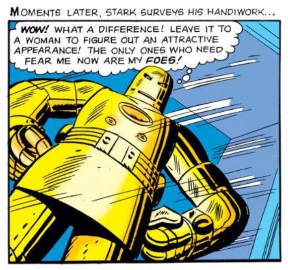 Iron Man Comic Original The Original Iron Man Armor