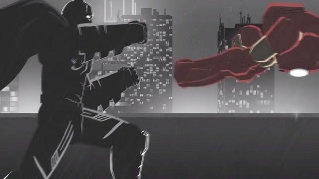 batman vs iron man fan animation batman iron man fanboy