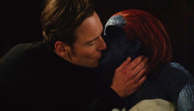 X-Men: Apocalypse Will Center On Romance Between Mystique ... X Men First Class Magneto And Mystique