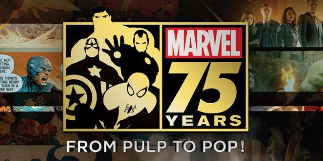 Marvel 75 Years from Pulp to Pop!