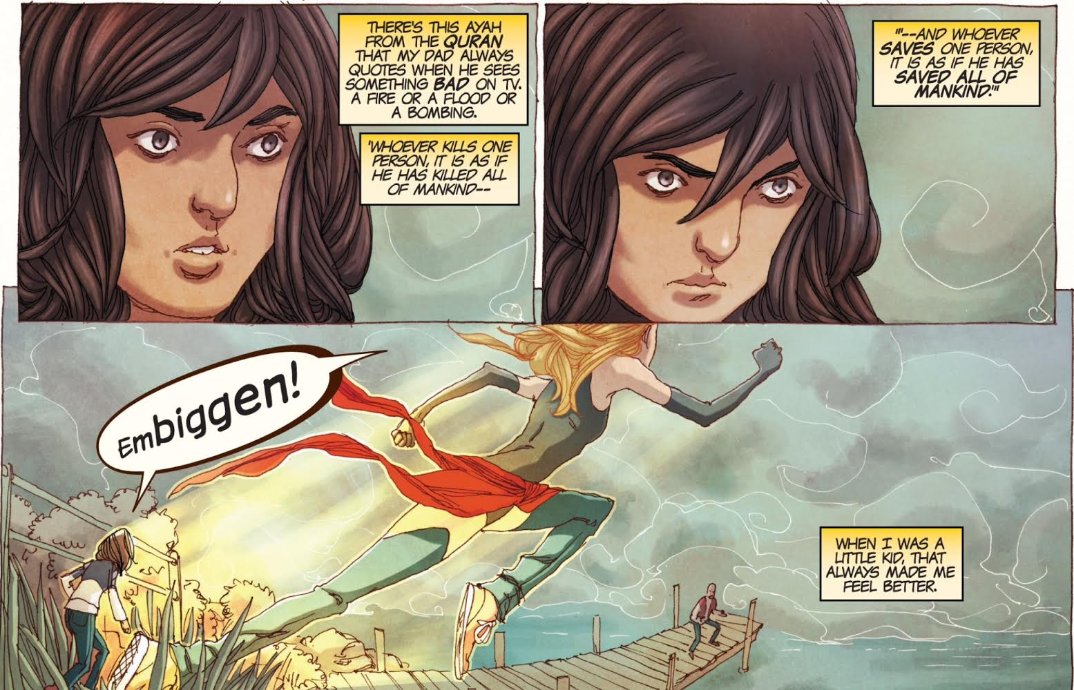 Ms Marvel Tops The October Sales Charts (because Ms Marvel Is Amazing)