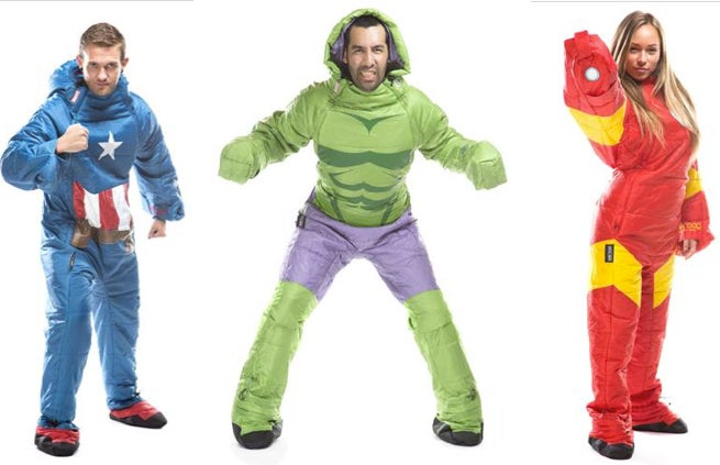 Wearable Sleeping Bags Of Your Favorite Marvel Characters Are Now Available
