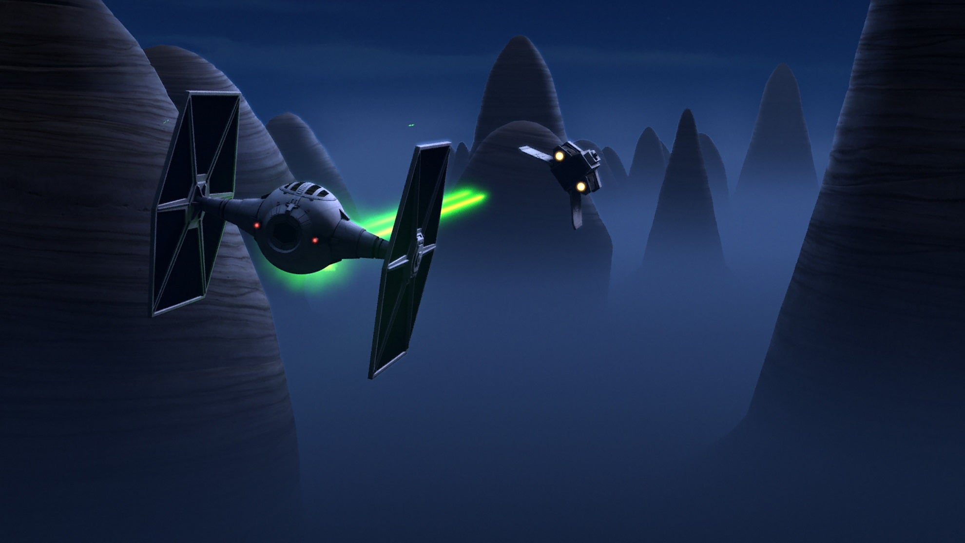 Star wars rebels episode 7 out of darkness / Wong fu