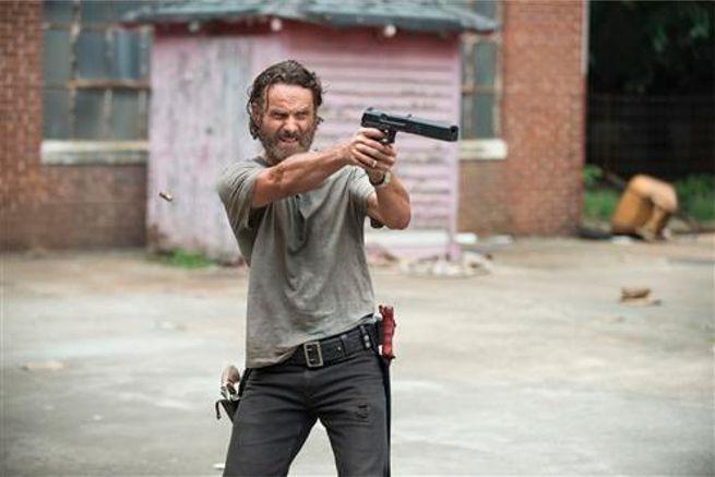 The Walking Dead Season 5 Crossed Rick