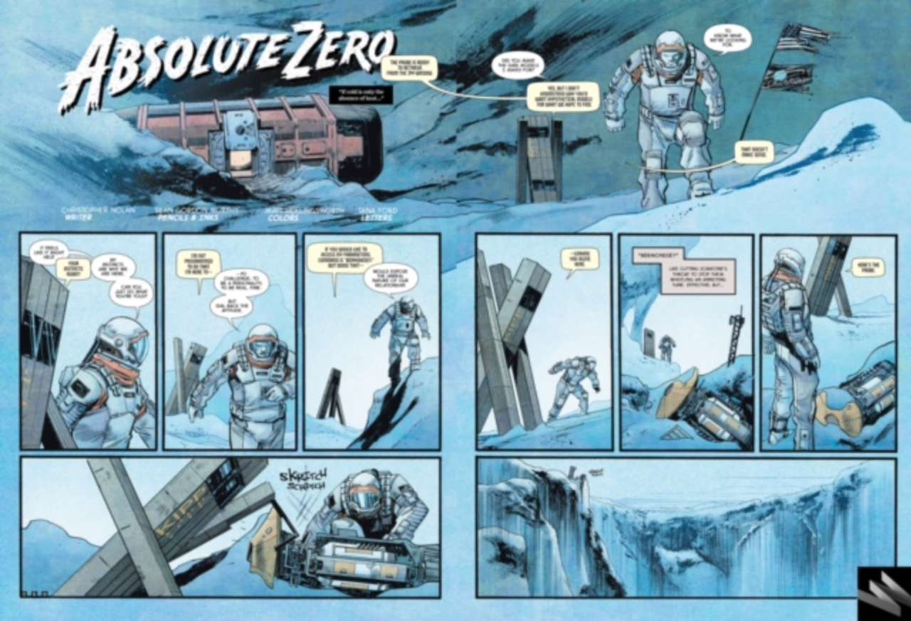 Read Christopher Nolan And Sean Murphy\'s Interstellar Prequel Comic ...