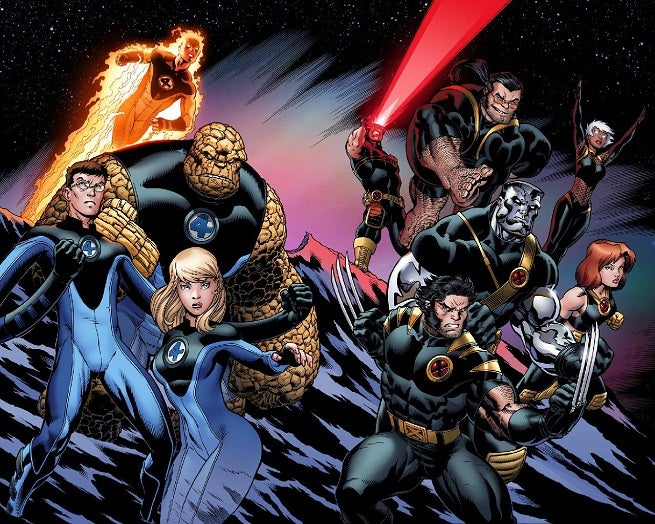fantastic four and x men-1526791