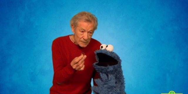 gandalf cookie monster