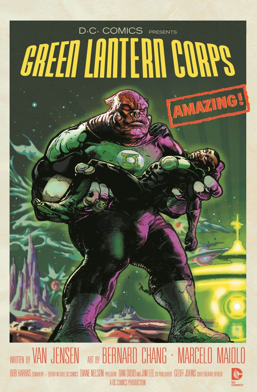 Green lantern corps comic cover - photo#3