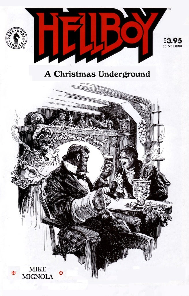 Hellboy Christmas Underground cover