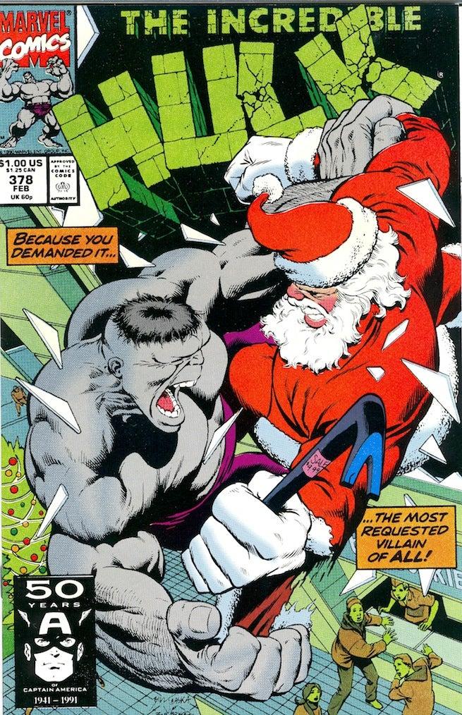 Hulk 378 cover