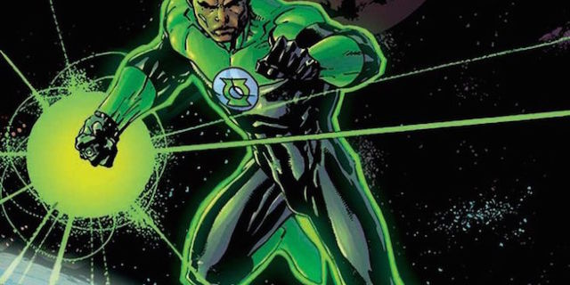 Jim Lee Green Lantern by Inkblotzart