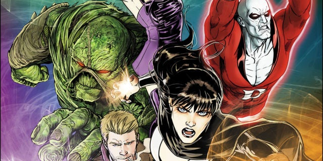 Justice League Dark Vol 1 30 Textless