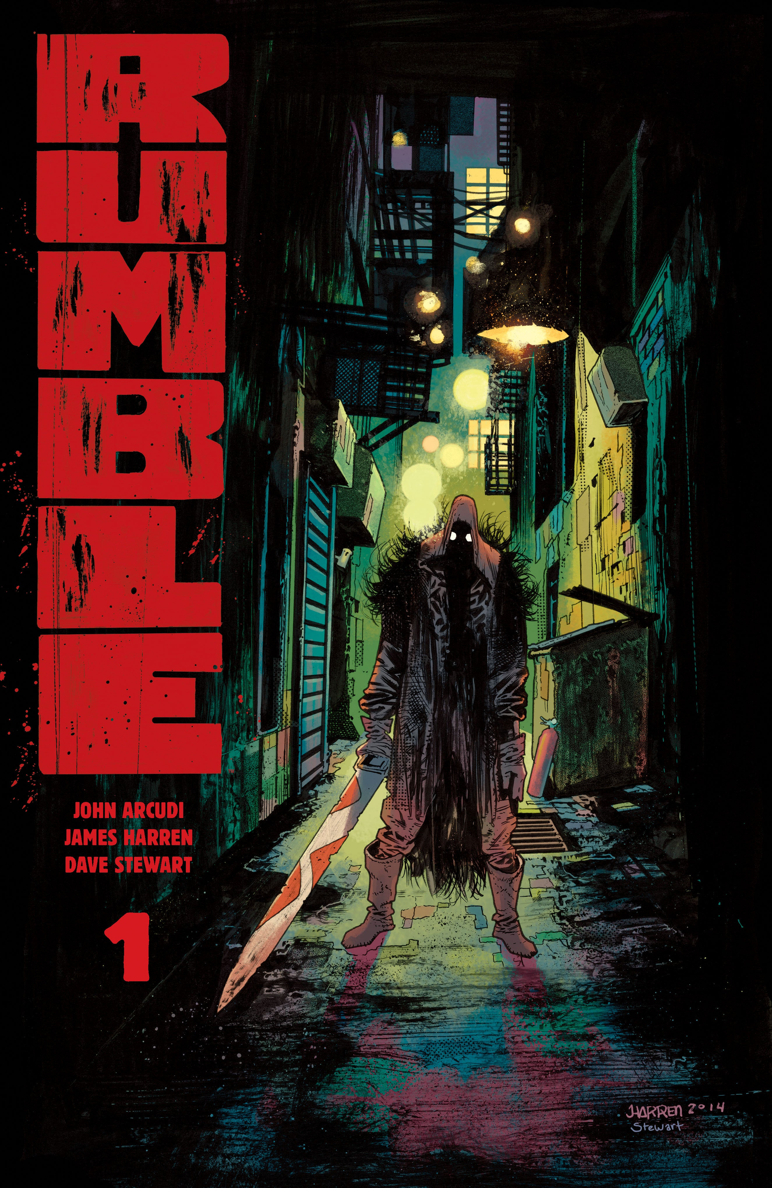 Advance Review Rumble 1 Is A Pure Comics Experience