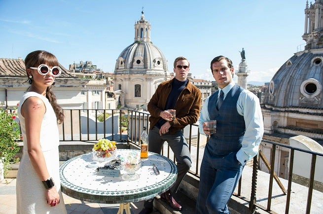 The Man From U.N.C.L.E. First Image Released
