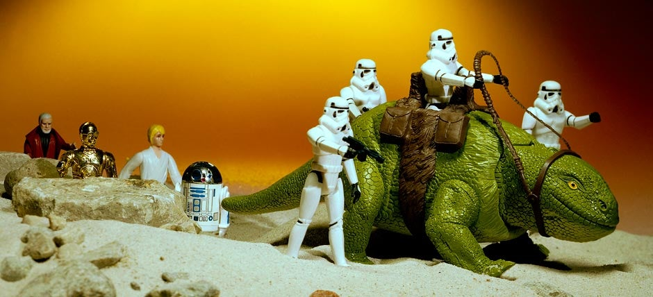 Star Wars 80s Toys : Classic kenner star wars toy photos take us back to the s