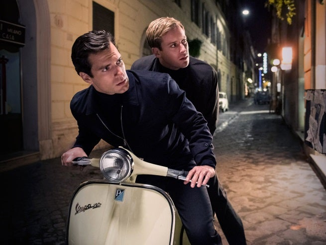 New Man From U.N.C.L.E. Photo Shows Henry Cavill & Armie Hammer