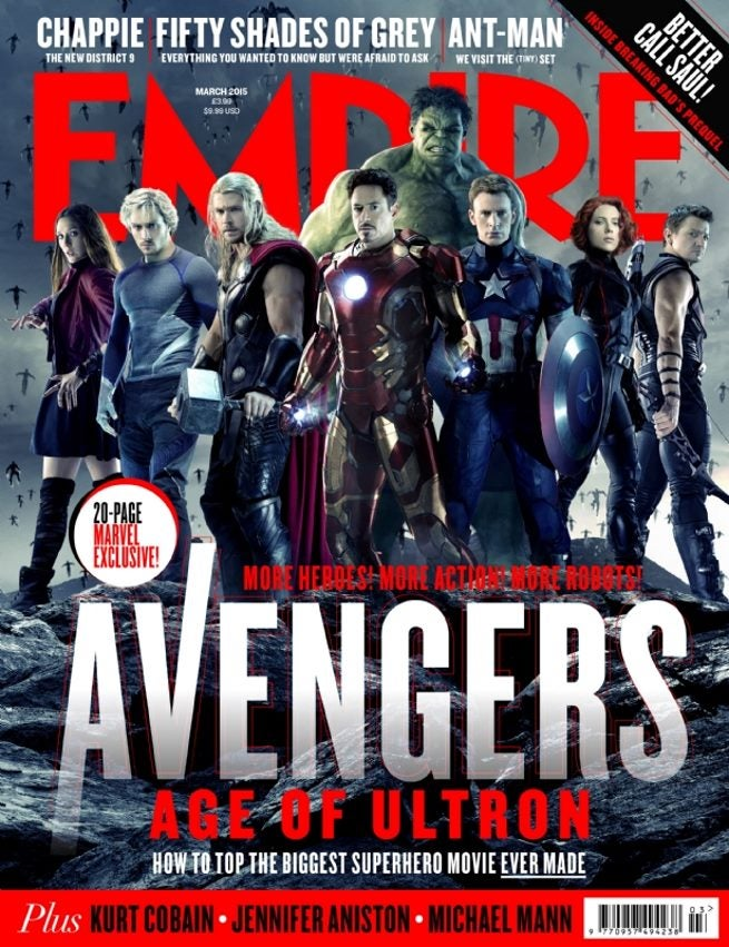of Avengers Has Officially