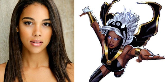 Alexandra shipp studies up for storm role