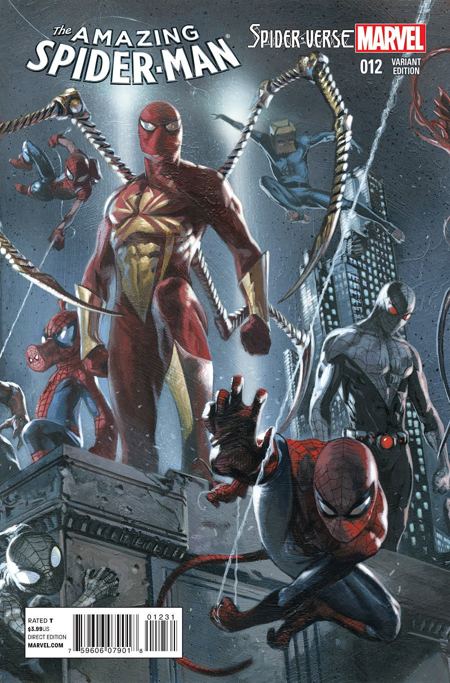 12 Amazing Tattoo Designs For Shoulder Blade: [SPOILER] Returns In Amazing Spider-Man #12