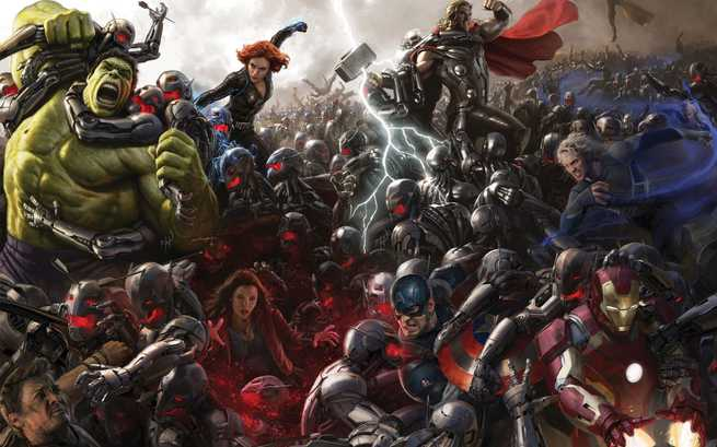 Avengers Age Of Ultron Poster Comic Con