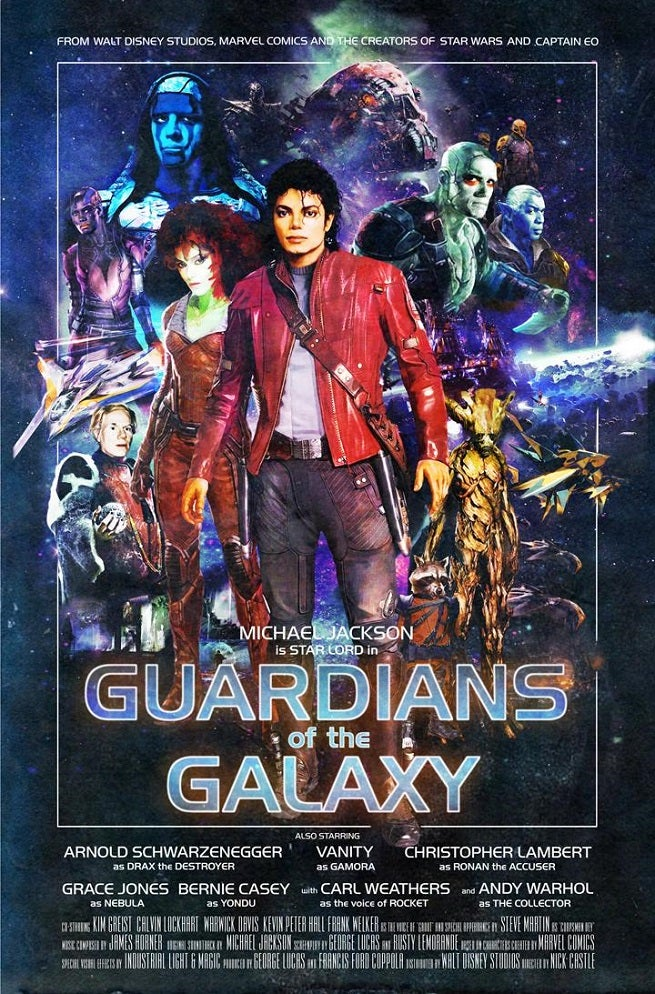Guardians Of The Galaxy Done In 90s TV Show VHS Style