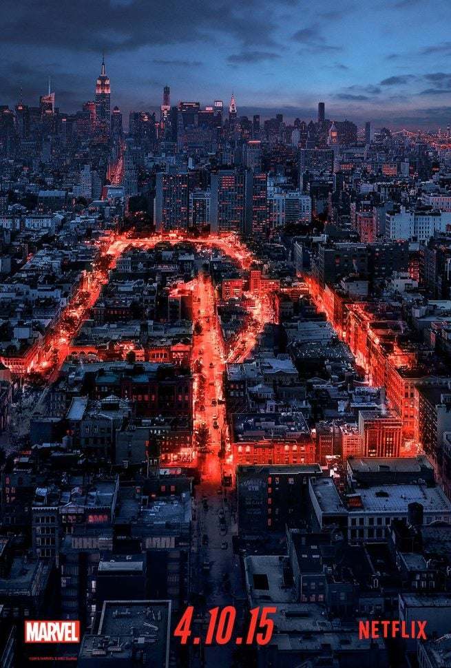 Daredevil Lights Up Hell S Kitchen In New Motion Poster