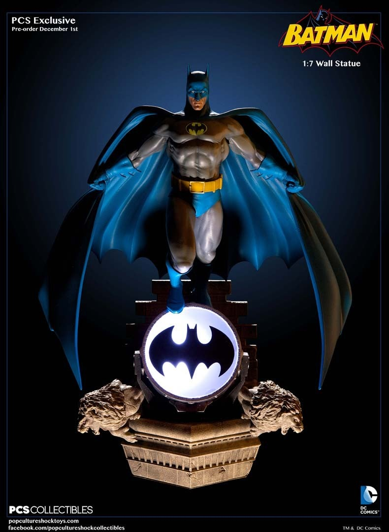 Batman Quits His Desk Job In New Wall Statue From PSC