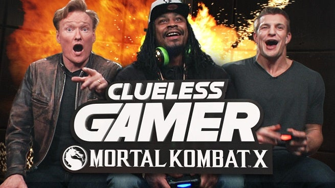 Mortal Kombat X Clueless Gamer Outtakes From Conan O'Brien