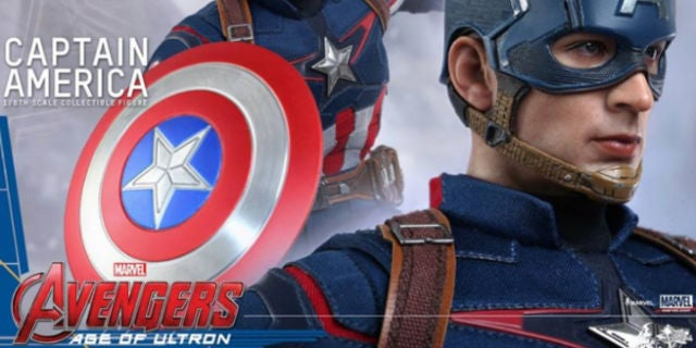 Hot Toys Unveils Captain America Figure For Avengers: Age Of Ultron
