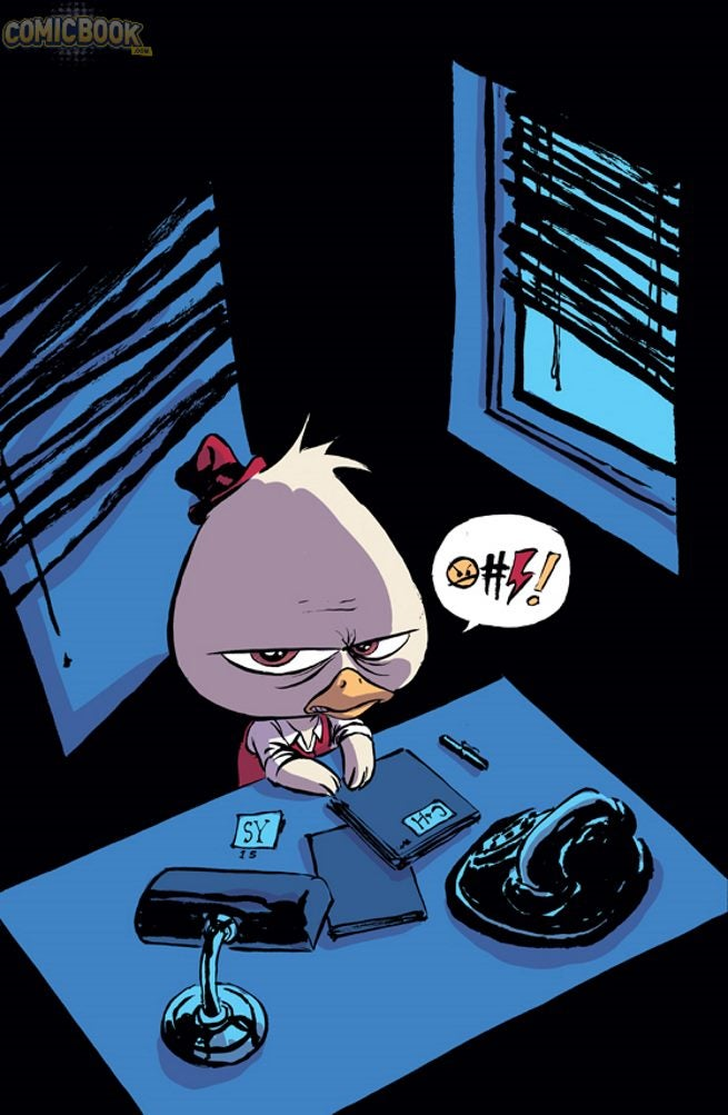 EXCLUSIVE: Howard The Duck #1 Variant Cover By Skottie Young