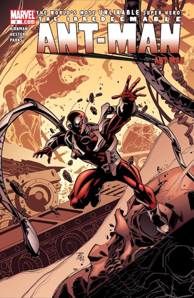 Irredeemable Ant-Man cover
