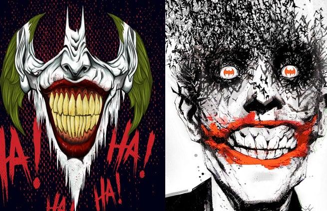 http://media.comicbook.com/uploads1/2015/01/joker-117122.jpg Comic Joker Painting