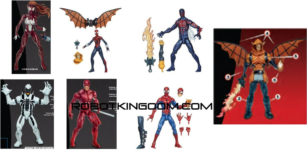 Ultimate spider woman added to marvel legends infinite series line 0