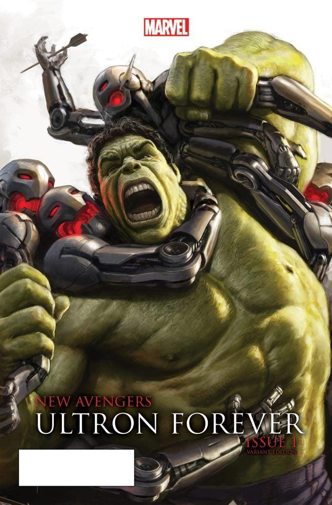 New Avengers Ultron Forever 1