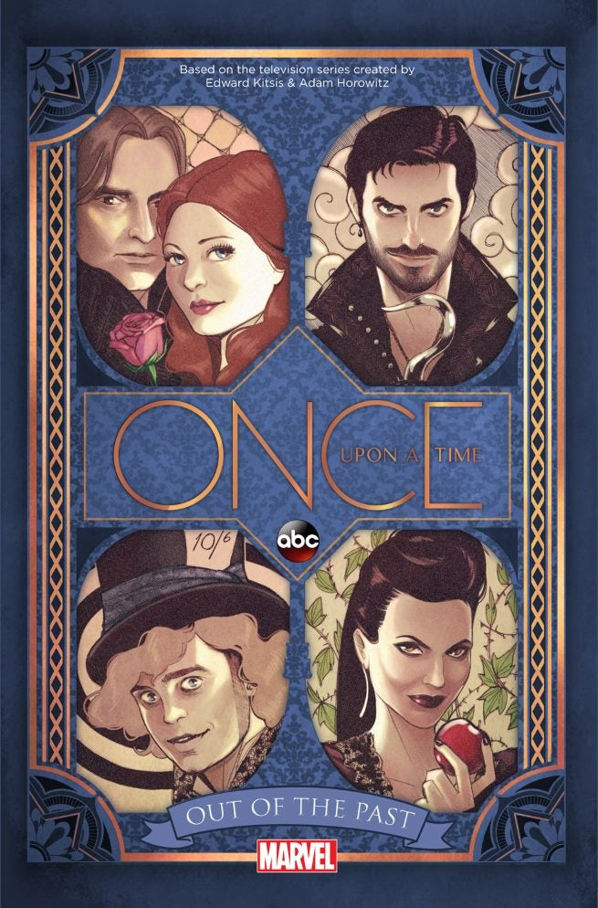 Marvel And Abc Announce Once Upon A Time Out Of The Past