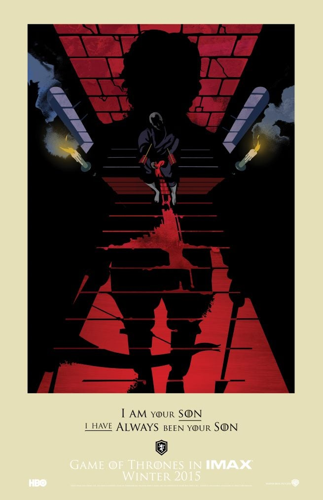 Game Of Thrones IMAX Posters Revealed