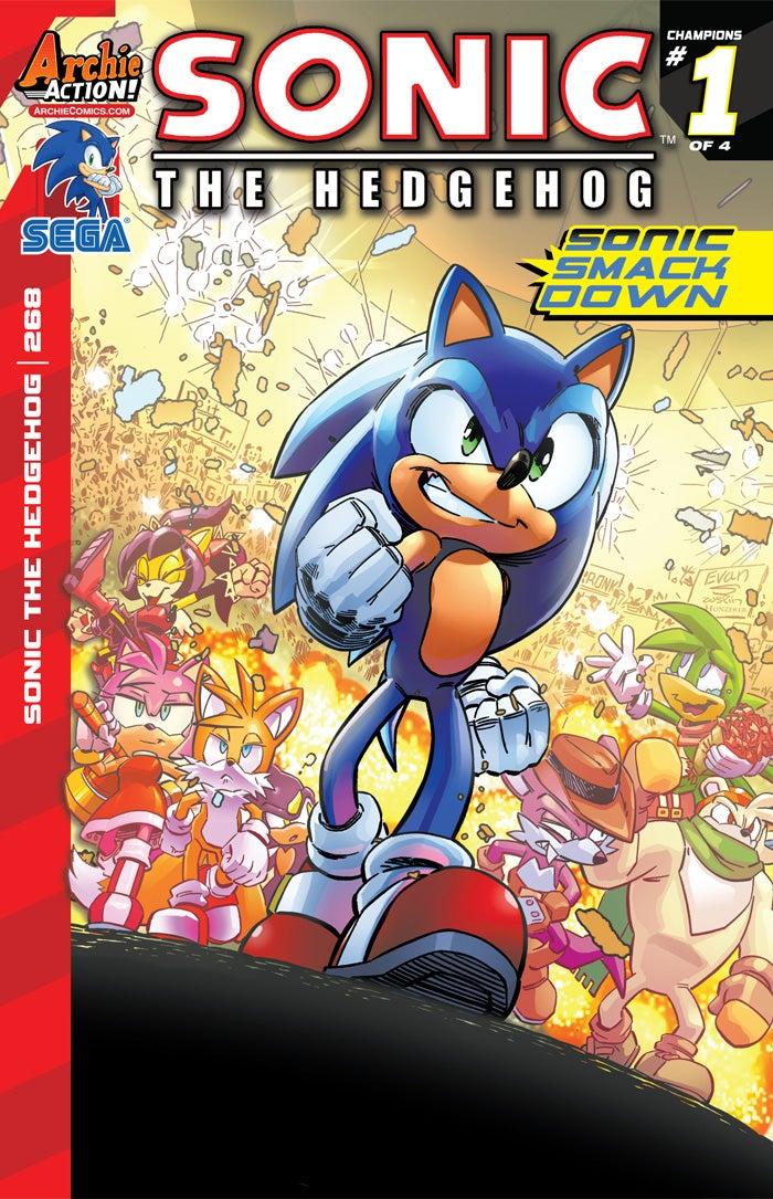 ... Comics Preview: Sonic the Hedgehog #268