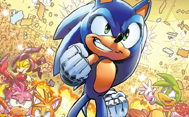 exclusive archie comics preview sonic the hedgehog 268