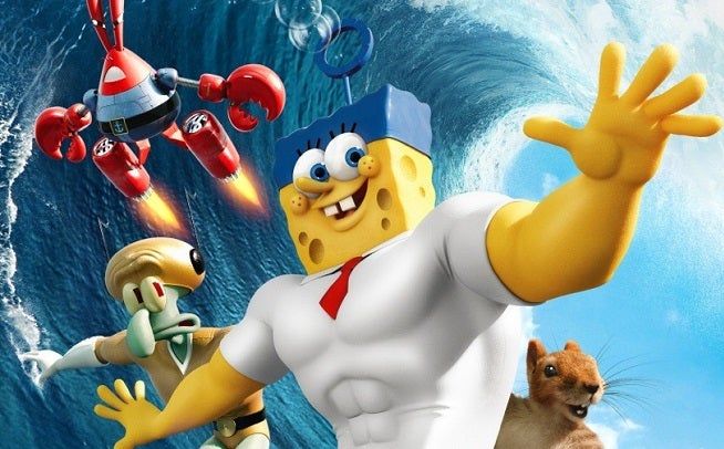 the spongebob movie sponge out of water super bowl trailer