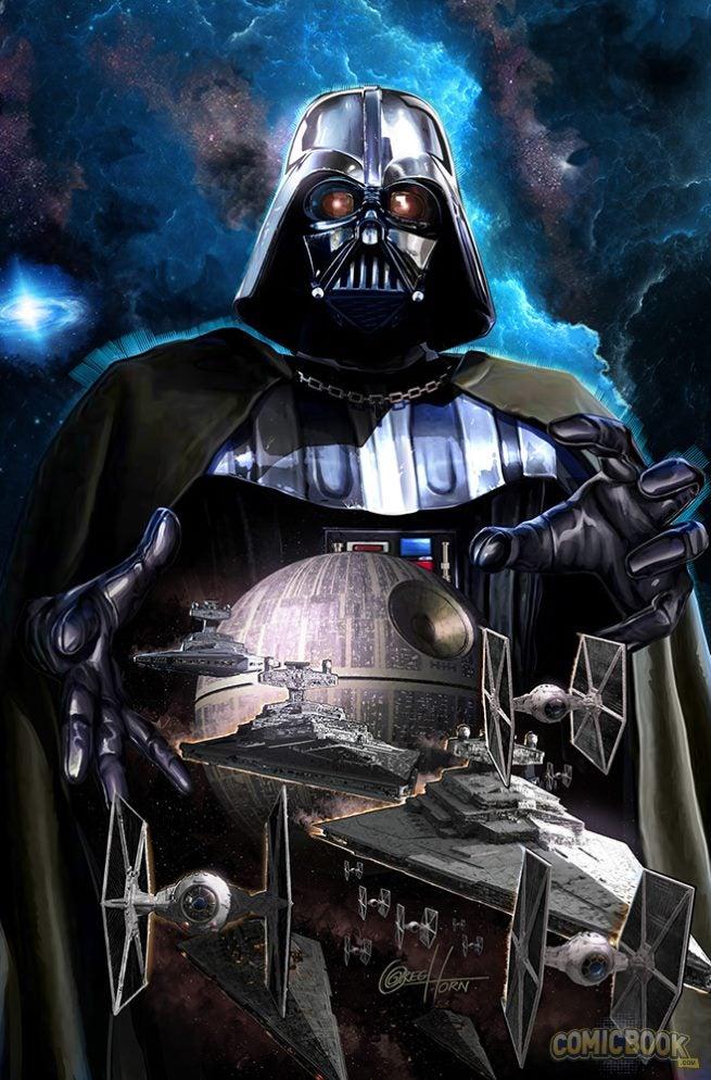 Star Wars Darth Vader #1 Variants (2)