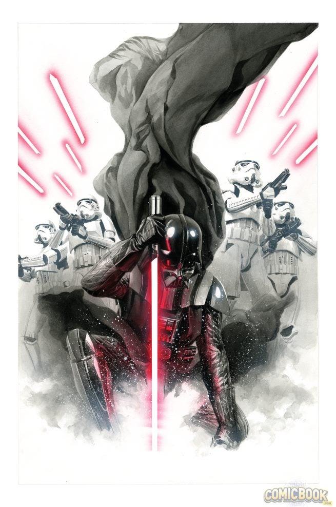 Star Wars Darth Vader #1 Variants (4)