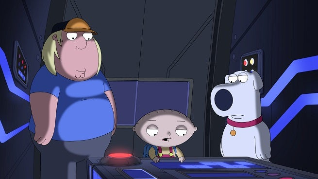 Brian And Stewie Time Travel