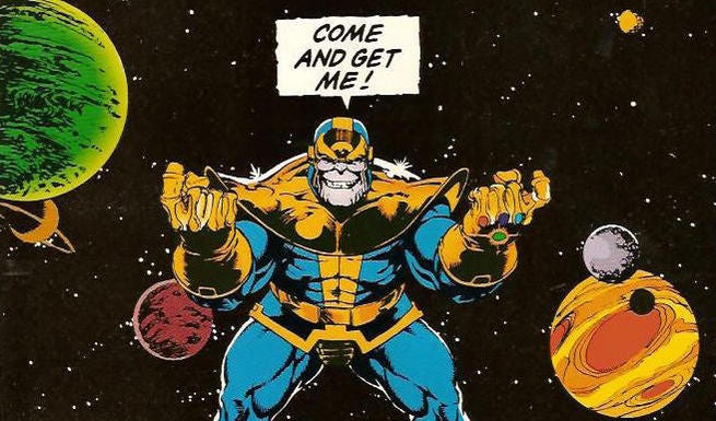 Image result for infinity gauntlet issue 4