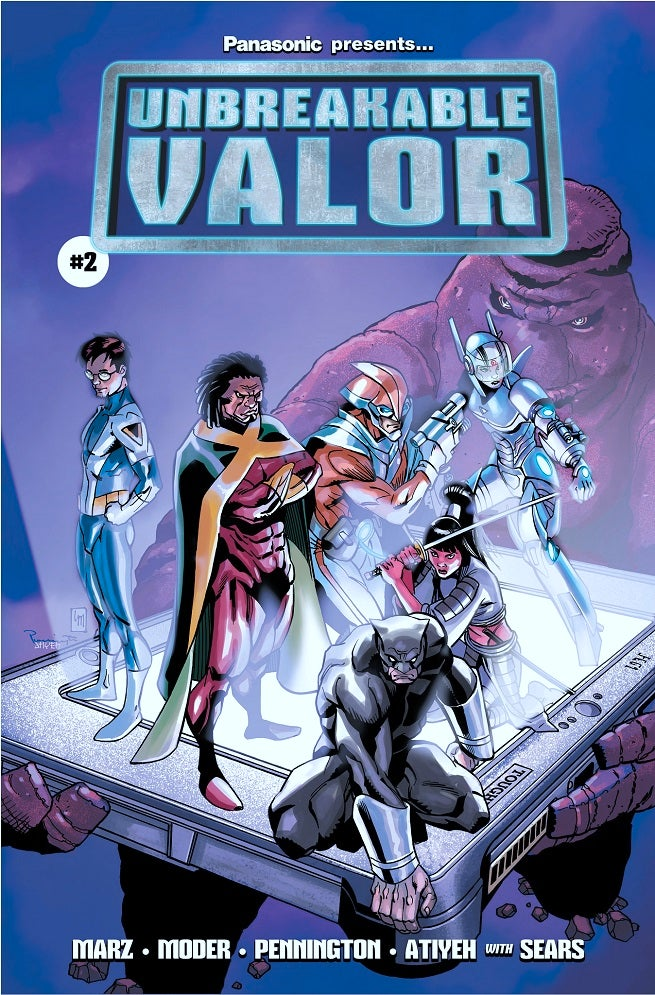 Ron Marz Talks Unbreakable Valor Writing Quot Fun Quot Superhero