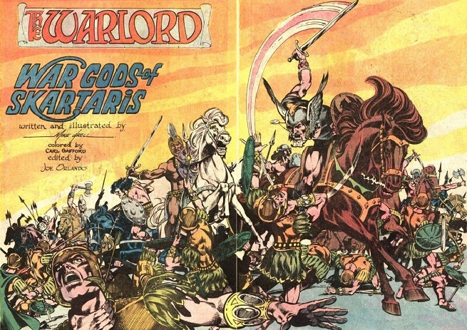Creation Conversations Mike Grell On Creating The Warlord