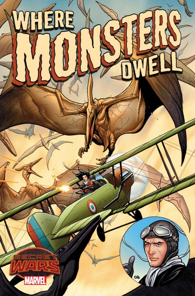 "Garth Ennis To Write ""Where Monsters Dwell"" Secret Wars Tie-In ..."