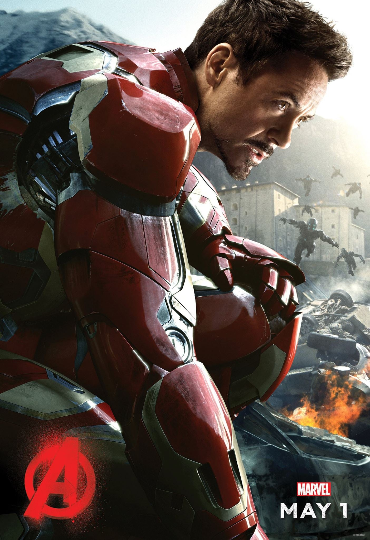 New Avengers: Age Of Ultron Poster, Robert Downey Jr. Teases Big Announcement