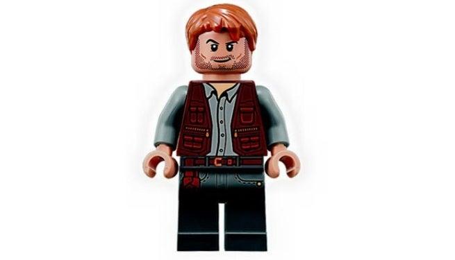 Chris Pratt Debuts His Own Jurassic World Lego Minifig Migliori