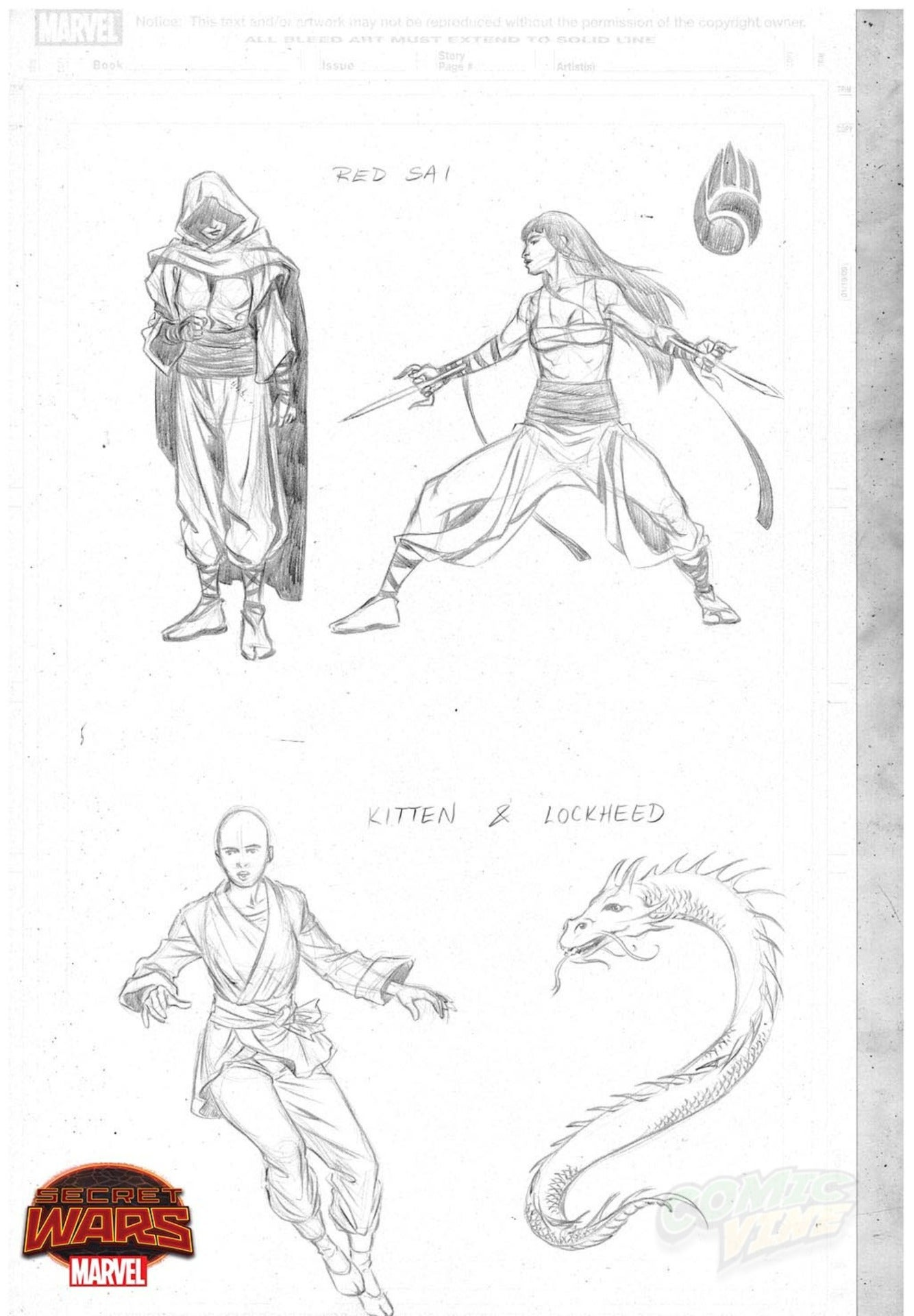 Character Design Masterclass Book One : Marvel announces secret wars master of kung fu